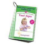 Signing Smart Diaper Bag Dictionary: Sign Language Flashcards-Food Signs