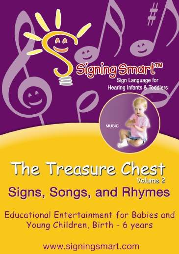Treasure Chest, Vol. 2: Signs, Songs and Rhymes! (DVD & CD of Songs)