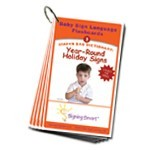 Signing Smart Diaper Bag Dictionary: Sign Language Flashcards-Year-Round Holiday Signs